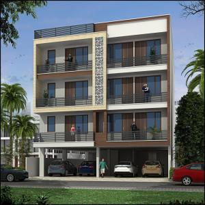 Gallery Cover Image of 900 Sq.ft 2 BHK Apartment for buy in Mansarovar for 3200000