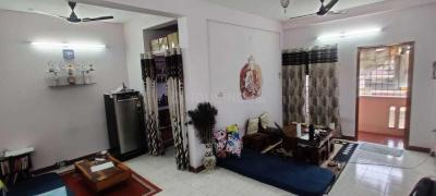 Gallery Cover Image of 780 Sq.ft 2 BHK Apartment for rent in Murugeshpalya for 14000