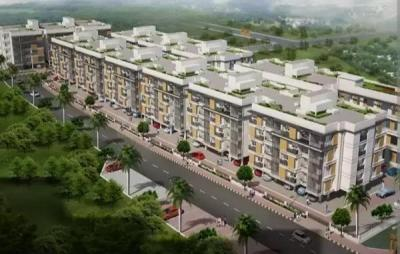 Gallery Cover Image of 950 Sq.ft 2 BHK Apartment for buy in S And P Essense, Kil Ayanambakkam for 5500000