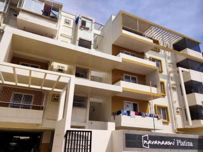 Gallery Cover Image of 1200 Sq.ft 3 BHK Apartment for rent in Agrahara Layout for 23000