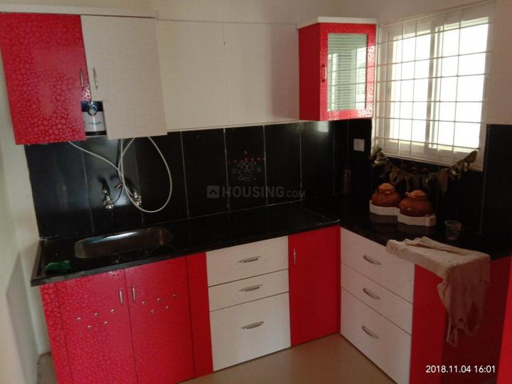 Kitchen Image of 1250 Sq.ft 2 BHK Apartment for rent in Adibhatla for 18500