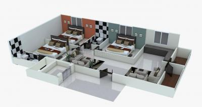 Gallery Cover Image of 1302 Sq.ft 3 BHK Apartment for buy in Attapur for 6400000