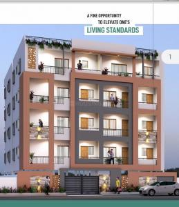 Gallery Cover Image of 1150 Sq.ft 2 BHK Apartment for buy in Kasturi Nagar for 6300000