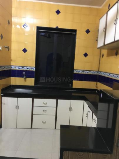 Kitchen Image of 660 Sq.ft 1 BHK Apartment for rent in Sion for 32000