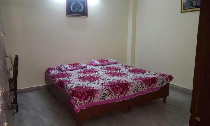 खिरकी एक्सटेंशन में वाणी पीजी के बेडरूम की तस्वीर