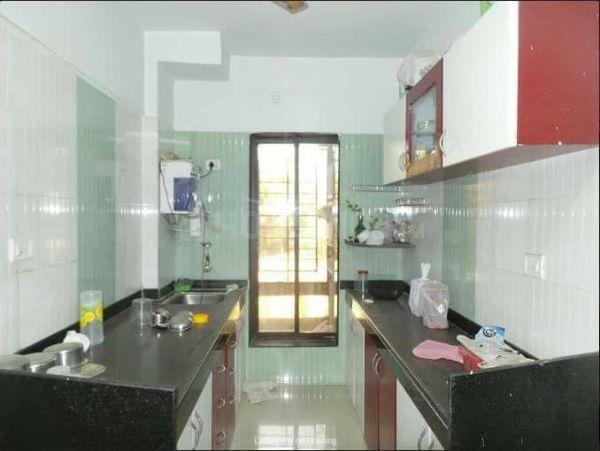 Kitchen Image of Fully Furnished Sharing Paying Guest At Powai Chandivali Hiranandnai Garden in Powai