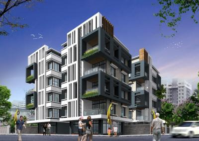 Gallery Cover Image of 1045 Sq.ft 3 BHK Apartment for buy in New Town for 4598000