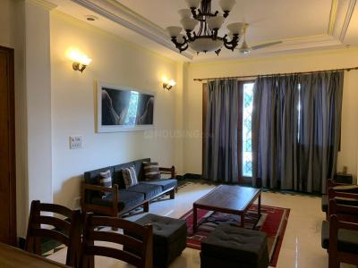 Gallery Cover Image of 2250 Sq.ft 3 BHK Independent Floor for rent in Saket for 80000