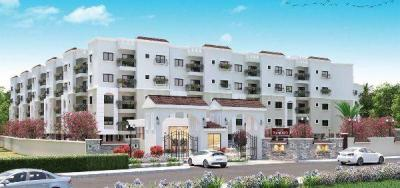 Gallery Cover Image of 450 Sq.ft 1 BHK Apartment for buy in Sowparnika Flamenco, Sarjapur for 2504000