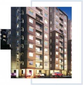 Gallery Cover Image of 610 Sq.ft 1 BHK Apartment for buy in Provident Manhattan Pods And Condos, Premavathi Pet for 4250000