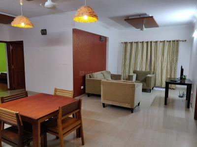 Gallery Cover Image of 1800 Sq.ft 3 BHK Apartment for rent in Bellandur for 75000