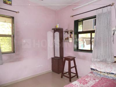 Bedroom Image of 770 Sq.ft 2 BHK Apartment for rent in Thane West for 17000
