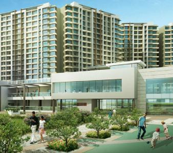 Gallery Cover Image of 1150 Sq.ft 2 BHK Apartment for buy in Kalpataru Aura, Ghatkopar West for 22500000