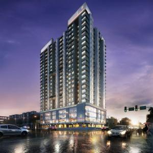 Gallery Cover Image of 630 Sq.ft 1 BHK Apartment for buy in Blumen, Vikhroli West for 10900000