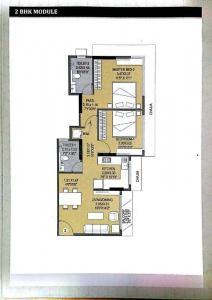 अशर मेपल, मुलुंड वेस्ट  में 14200000  खरीदें  के लिए 14200000 Sq.ft 2 BHK अपार्टमेंट के फ्लोर प्लान  की तस्वीर
