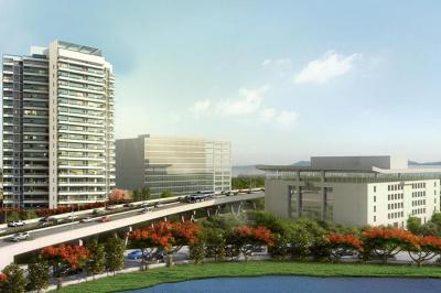 Gallery Cover Image of 845 Sq.ft 2 BHK Apartment for buy in L And T Emerald Isle, Powai for 19800000
