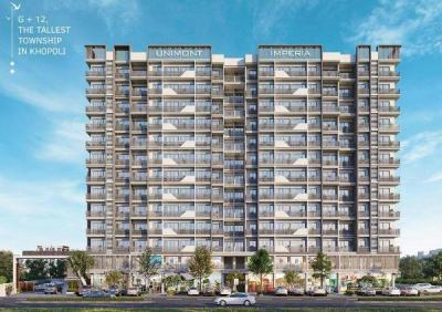 Gallery Cover Image of 550 Sq.ft 1 BHK Apartment for buy in Unimont Imperia, Yashwant Nagar for 2300000