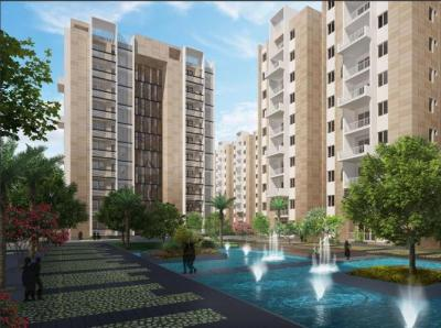Gallery Cover Image of 1240 Sq.ft 2 BHK Apartment for buy in Ambience Courtyard, Puppalaguda for 8419600