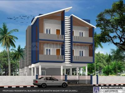 Gallery Cover Image of 806 Sq.ft 2 BHK Apartment for buy in Nanmangalam for 3385200