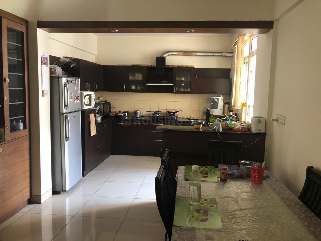 Kitchen Image of 1600 Sq.ft 2 BHK Apartment for rent in Krishnarajapura for 28000