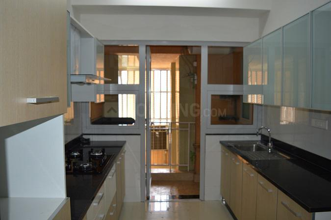 Kitchen Image of 2100 Sq.ft 4 BHK Apartment for rent in Goregaon East for 95000