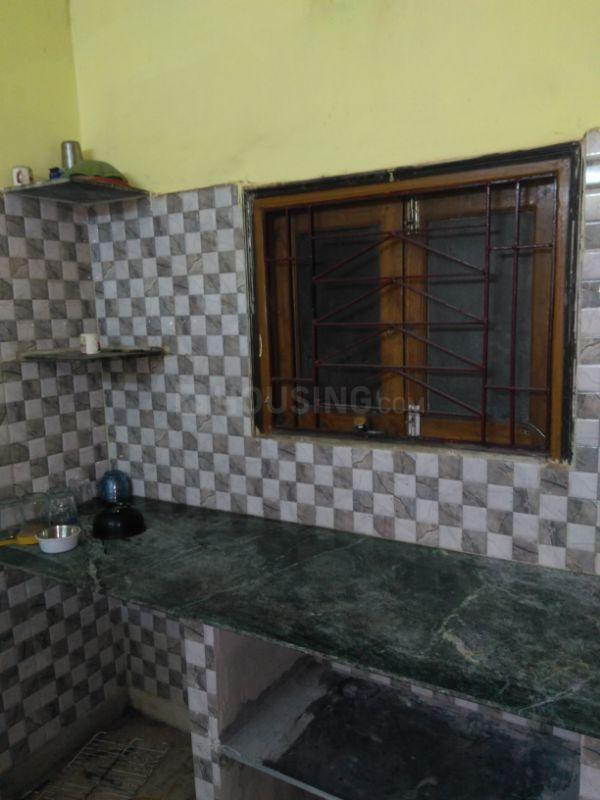 Kitchen Image of 430 Sq.ft 1 BHK Apartment for rent in Garia for 6500