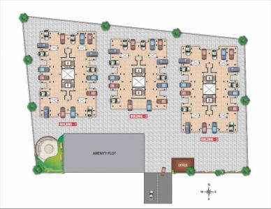 Gallery Cover Image of 555 Sq.ft 1 BHK Apartment for buy in Palase for 1443000