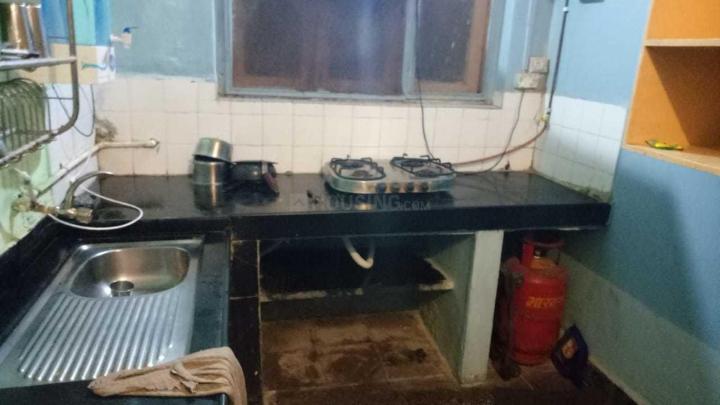 गोरेगांव ईस्ट में गर्ल्स पीजी में किचन की तस्वीर