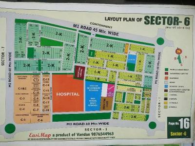 Gallery Cover Image of 3500 Sq.ft 3 BHK Independent Floor for rent in Sector 6 for 60000