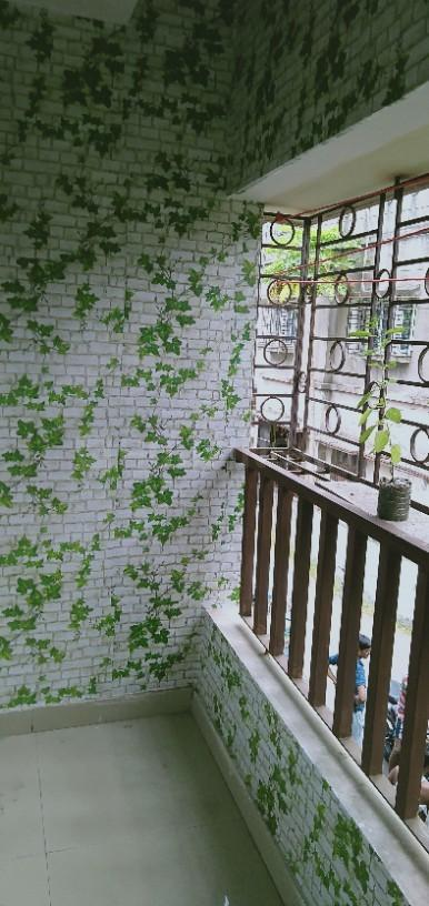 Balcony Image of 800 Sq.ft 2 BHK Apartment for rent in Kaikhali for 10000