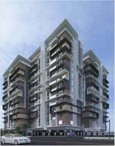 Gallery Cover Image of 1427 Sq.ft 3 BHK Apartment for buy in Sahiti Karthikeya Panorama, Madhapur for 10000000