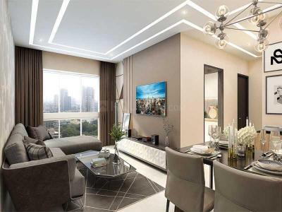 Gallery Cover Image of 574 Sq.ft 1 BHK Apartment for buy in Oxford Navrang Oasis, Goregaon West for 9900000