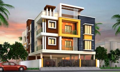 Gallery Cover Image of 1253 Sq.ft 3 BHK Apartment for buy in  South kolathur for 7016000