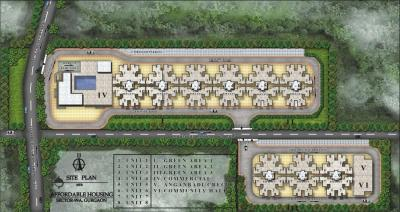 Gallery Cover Image of 800 Sq.ft 2 BHK Apartment for buy in Pareena Laxmi Apartments, Sector 99A for 1900000