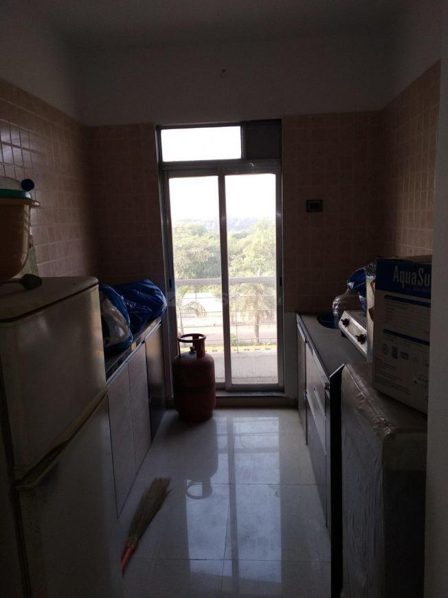Kitchen Image of 650 Sq.ft 1 BHK Apartment for rent in Dombivli East for 9000