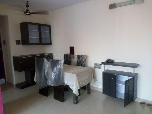 Living Room Image of 690 Sq.ft 1 BHK Apartment for rent in Kandivali East for 28000