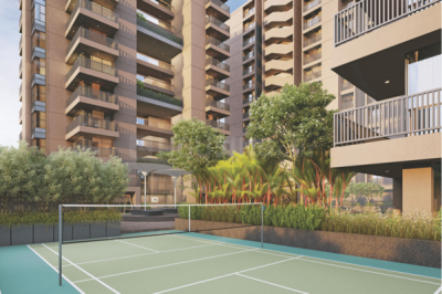 Gallery Cover Image of 2052 Sq.ft 3 BHK Apartment for buy in Saraswati Infraspace Felicia 2, Nirnay Nagar for 10600000