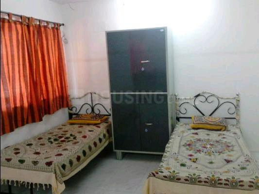 Bedroom Image of No Brokerage Decent And Well Furnished PG For Male / Female Is Available In Different Locations In Koparkhairane At Prime Location. in Kopar Khairane