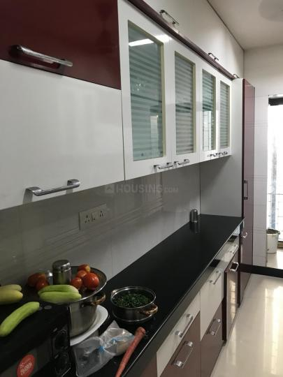 Kitchen Image of 1050 Sq.ft 2 BHK Apartment for rent in Andheri West for 60000