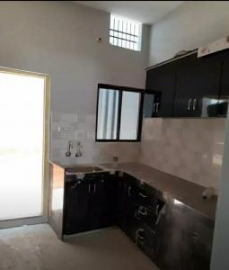 Kitchen Image of 1000 Sq.ft 3 BHK Independent House for buy in Kachnar Barsana, Vidya Nagar for 5500000