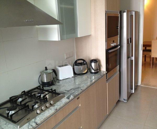 Kitchen Image of 2160 Sq.ft 3 BHK Independent Floor for buy in Sushant Lok I for 13500000