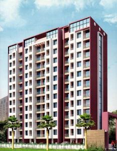 Gallery Cover Image of 695 Sq.ft 1 BHK Apartment for rent in Shree Prathamesh Vasudev Sky High, Mira Road East for 14500