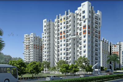 Gallery Cover Image of 774 Sq.ft 2 BHK Apartment for buy in Rajarhat for 4509100
