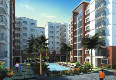Gallery Cover Image of 1300 Sq.ft 2 BHK Apartment for rent in Prestige Silversun, Bhoganhalli for 34000