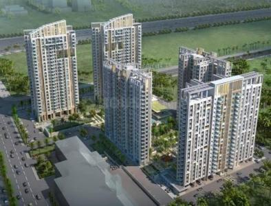 Gallery Cover Image of 1358 Sq.ft 3 BHK Apartment for rent in Tata Eden Court Primo, New Town for 26000
