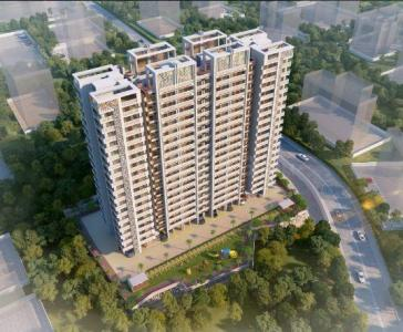 Gallery Cover Image of 900 Sq.ft 2 BHK Apartment for buy in Thane West for 7300000
