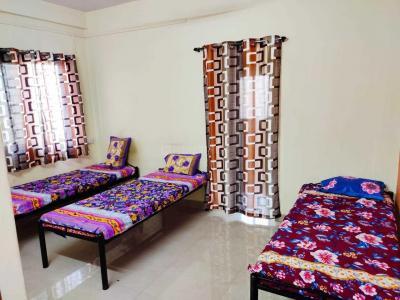 Bedroom Image of Santkrupa Girls PG in Kharadi