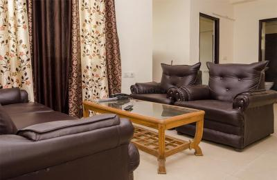 Gallery Cover Image of 1000 Sq.ft 3 BHK Apartment for rent in Crossings Republik for 21950