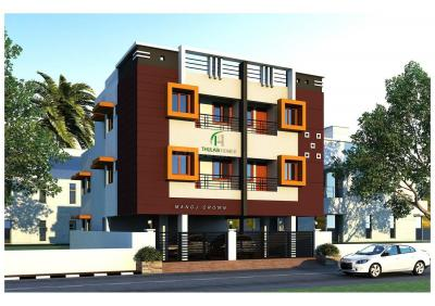 Gallery Cover Image of 732 Sq.ft 2 BHK Apartment for buy in Iyyappanthangal for 4300000