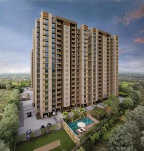 Gallery Cover Image of 1960 Sq.ft 3 BHK Apartment for buy in Goyal Orchid Heights, Shela for 8425000